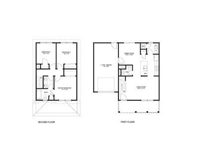 Buffalo addition floorplans ashby construction inc for Second floor addition floor plans